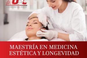 Maestría en Medicina Estética y Longevidad que ofrece la Universidad del Conde en la modalidad de Posgrados UDC