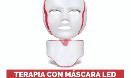 Terapia con mascara LED, el mejor tratamiento para disminuir los estragos de la inflamación postratameinto